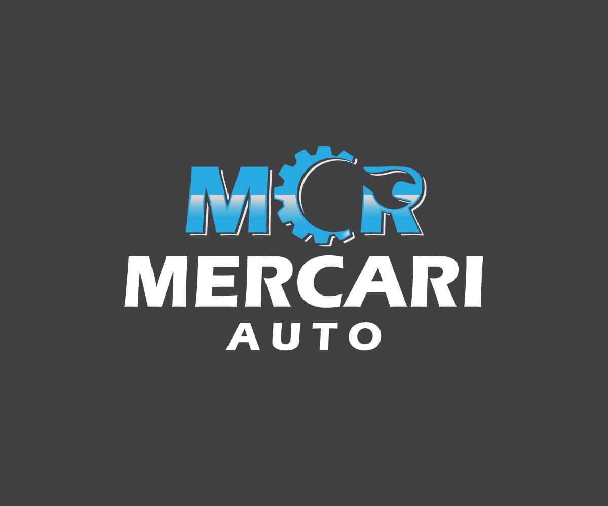Elegant Playful Automotive Logo Design For Mercari Auto By