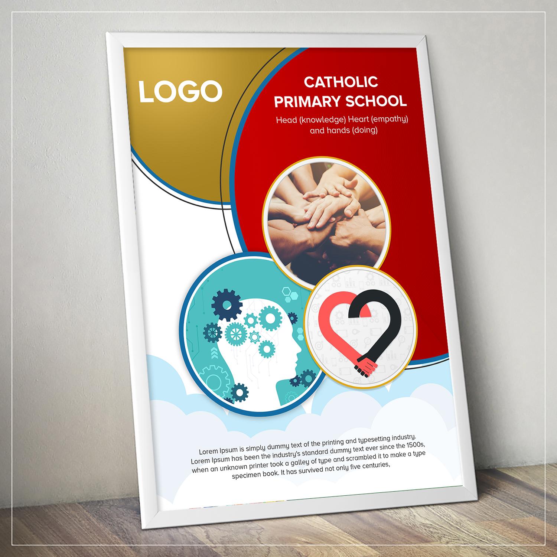 elegant spielerisch education poster design fur a company in australia design 20534422