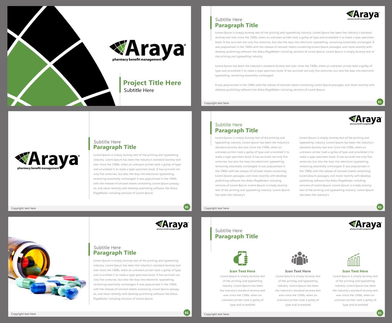 Elegant, Playful PowerPoint Design for Araya by Best Design