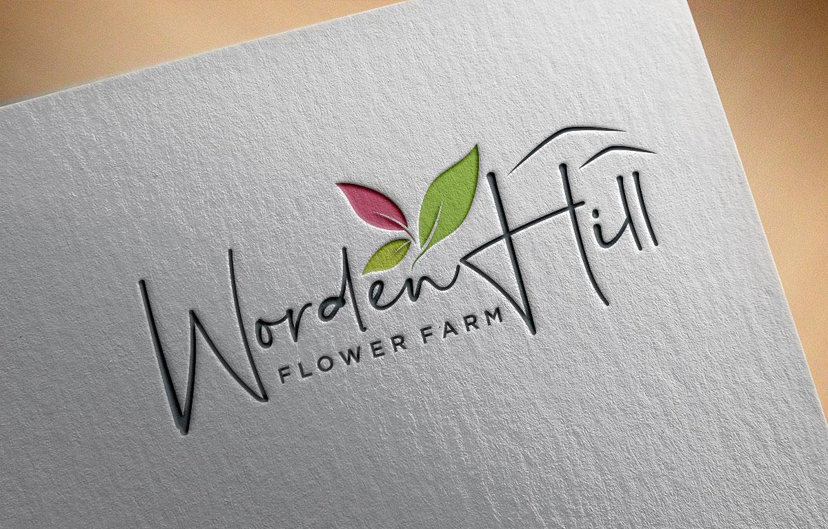 Flower farm logo by Atec