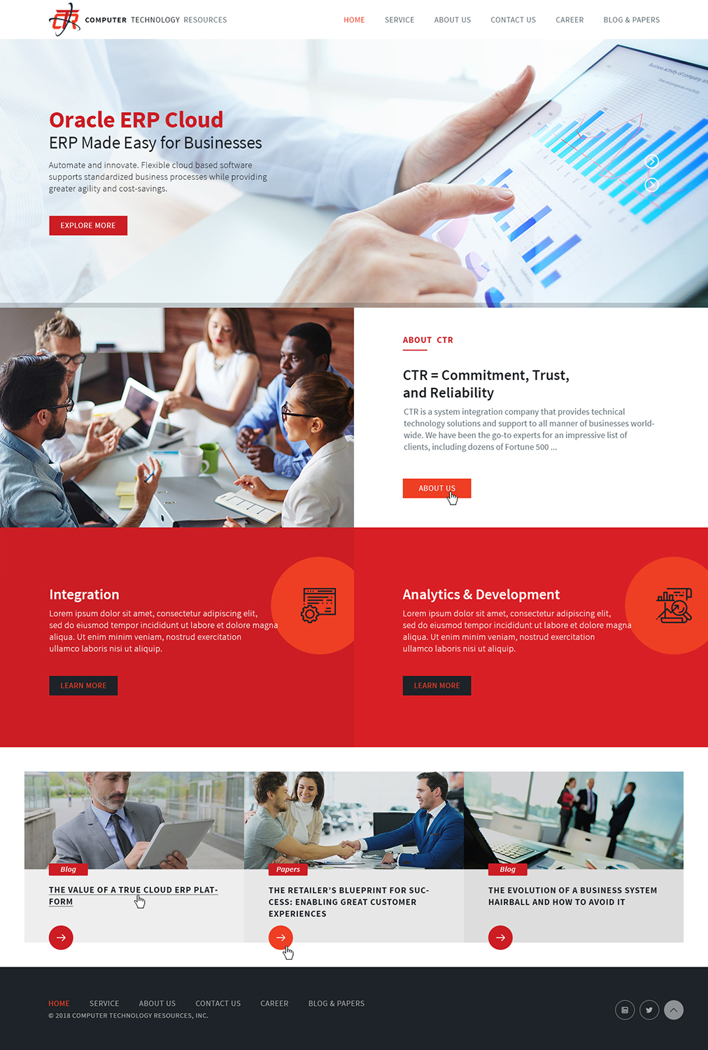 Modern Professional It Company Web Design For A Company By Ved Web Services Design 20732259