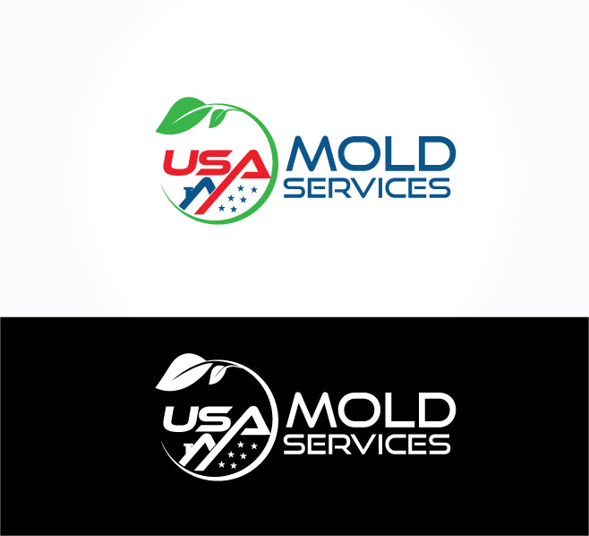 Logo Design for USA Mold Services by graphicevolution