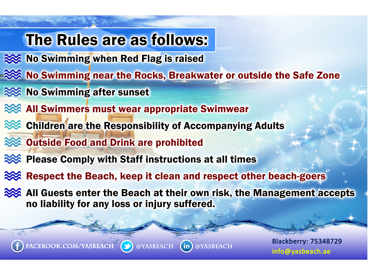 Poster design rules - Poster Design By Sandaruwan For Beach Club Needs Rules And Regulations Poster 3m Wide X