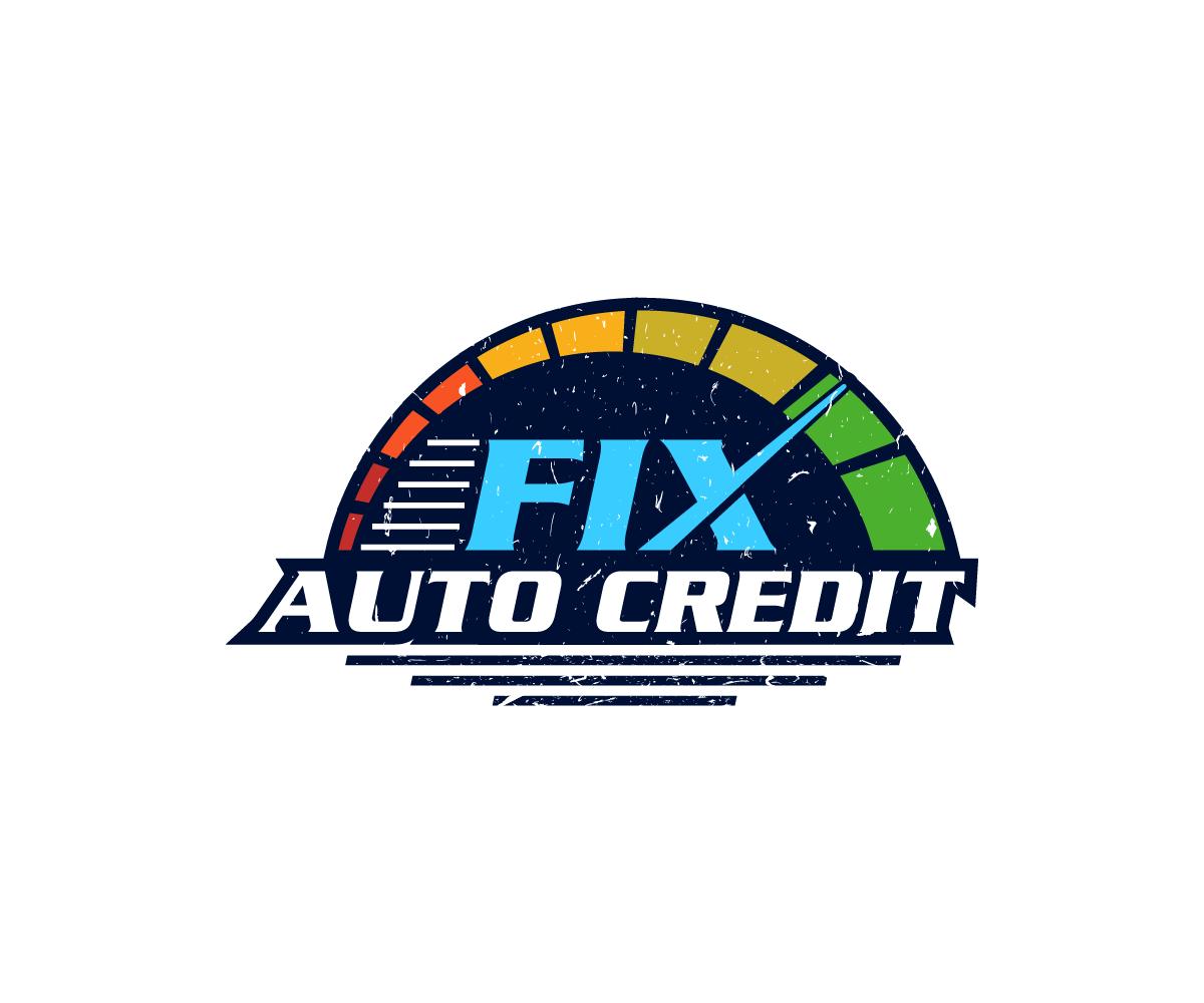 Economical Professional Automotive Logo Design For Fix Auto Credit