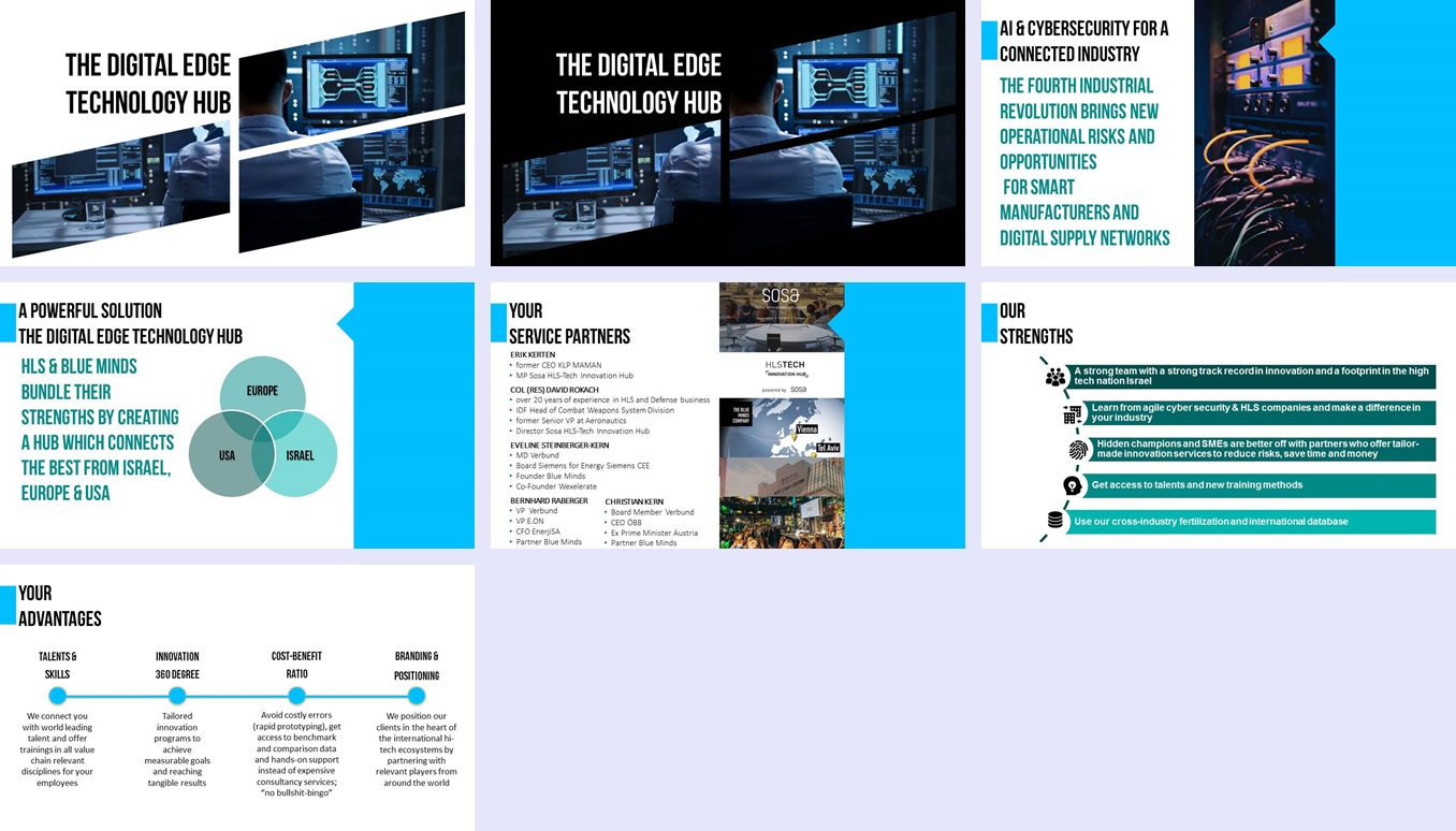 PowerPoint Design for a Company by Rizia K | Design #20625589