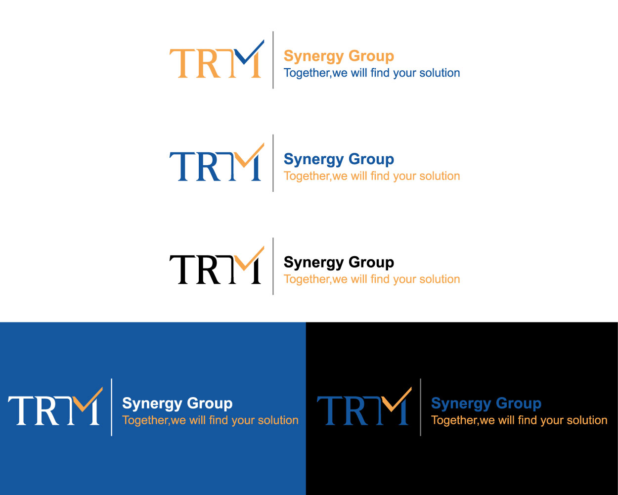 Serious, Professional Logo Design for TRM Synergy Group by