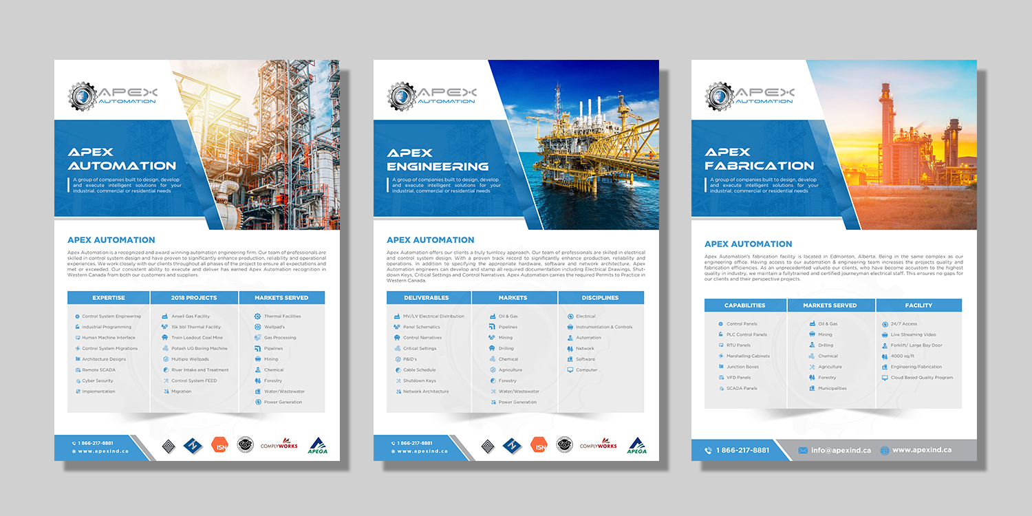 Brochure Design for a Company by hih7   Design #20638811