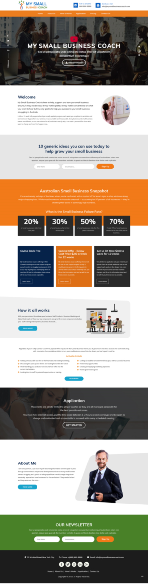 Business Consultant Web Designs | 86 Websites to Browse