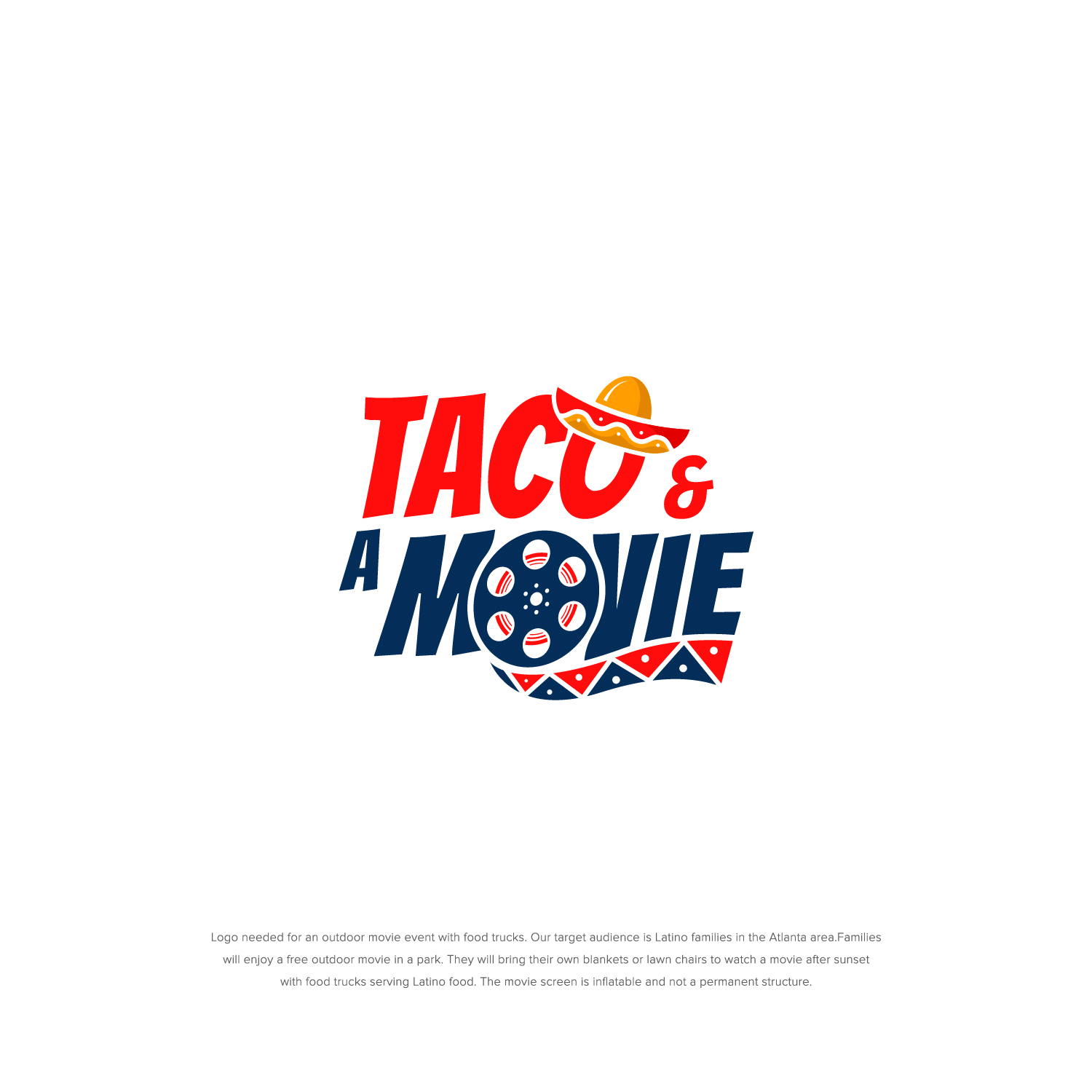 Logo Design for a Movie and Food Truck Events by shakuna