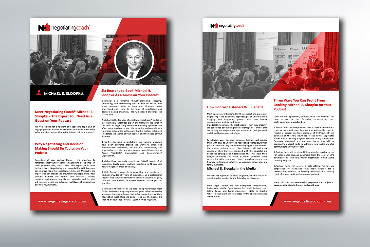 Bold, Serious Flyer Design for Selling Solutions Inc  by