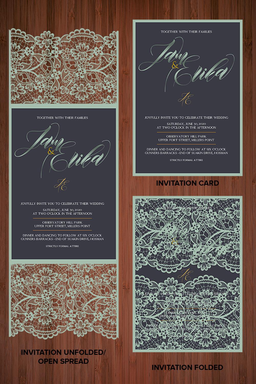 Special Laser Cut Wedding Invitation 24 Invitation Designs