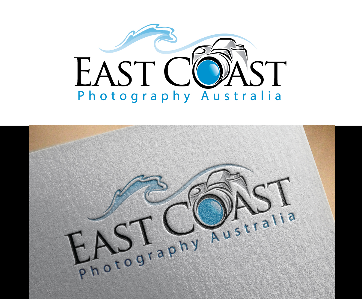 East Coast Photography Logo Design by 	 Graphicsexpert