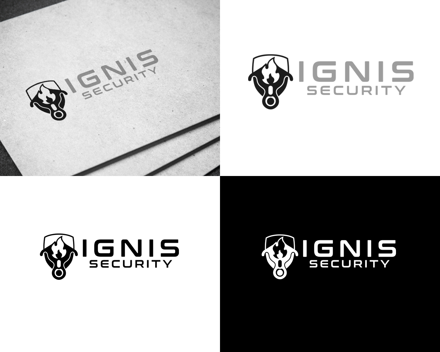 Bold serious security logo design for a company in canada design 20693765