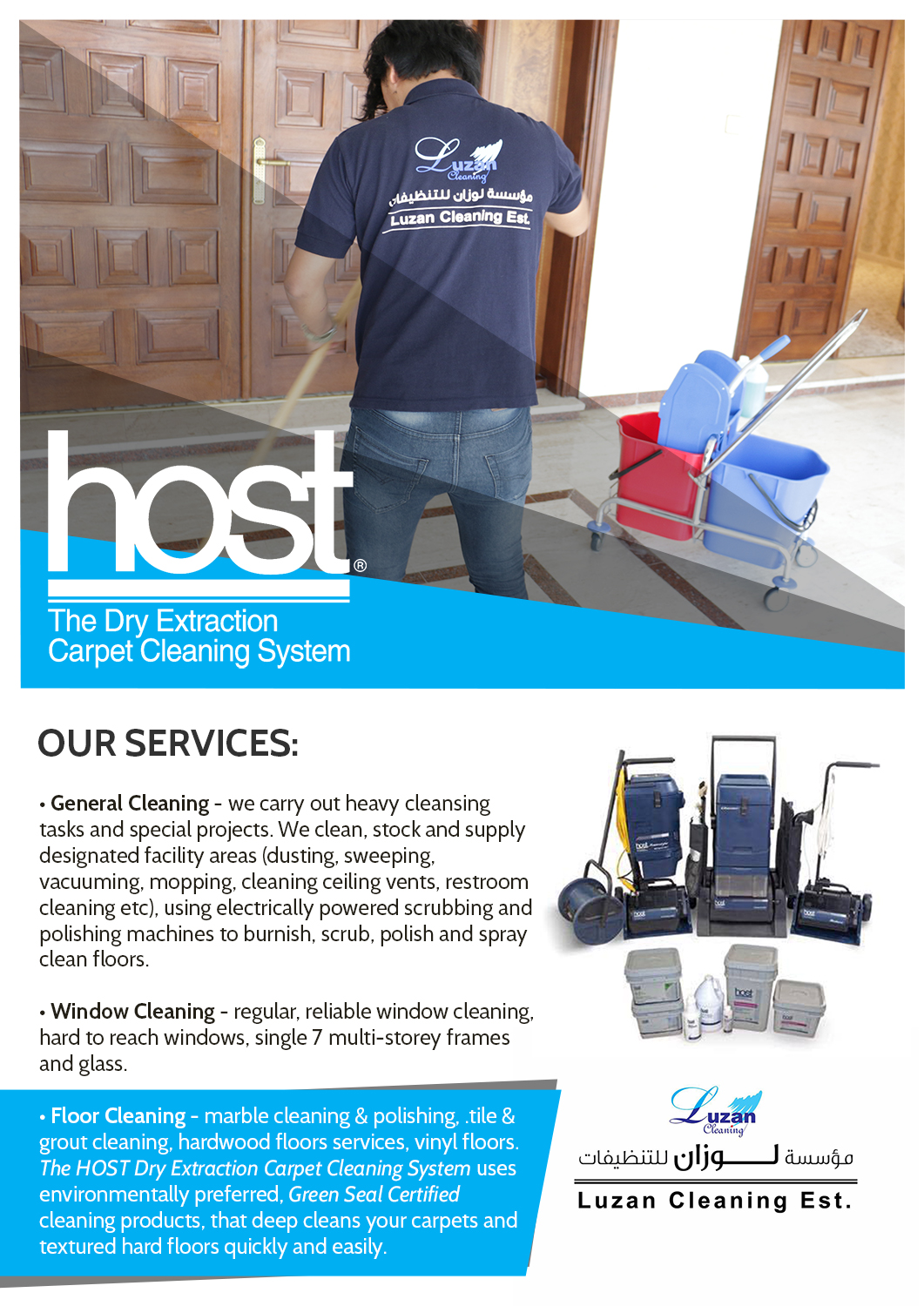 Elegant, Playful, Cleaning Service Flyer Design for a
