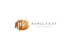 """PK""  ""Pamela Kay Photography"" ""PHOTOGRAPHY"" | Logo Design by GLDesigns"