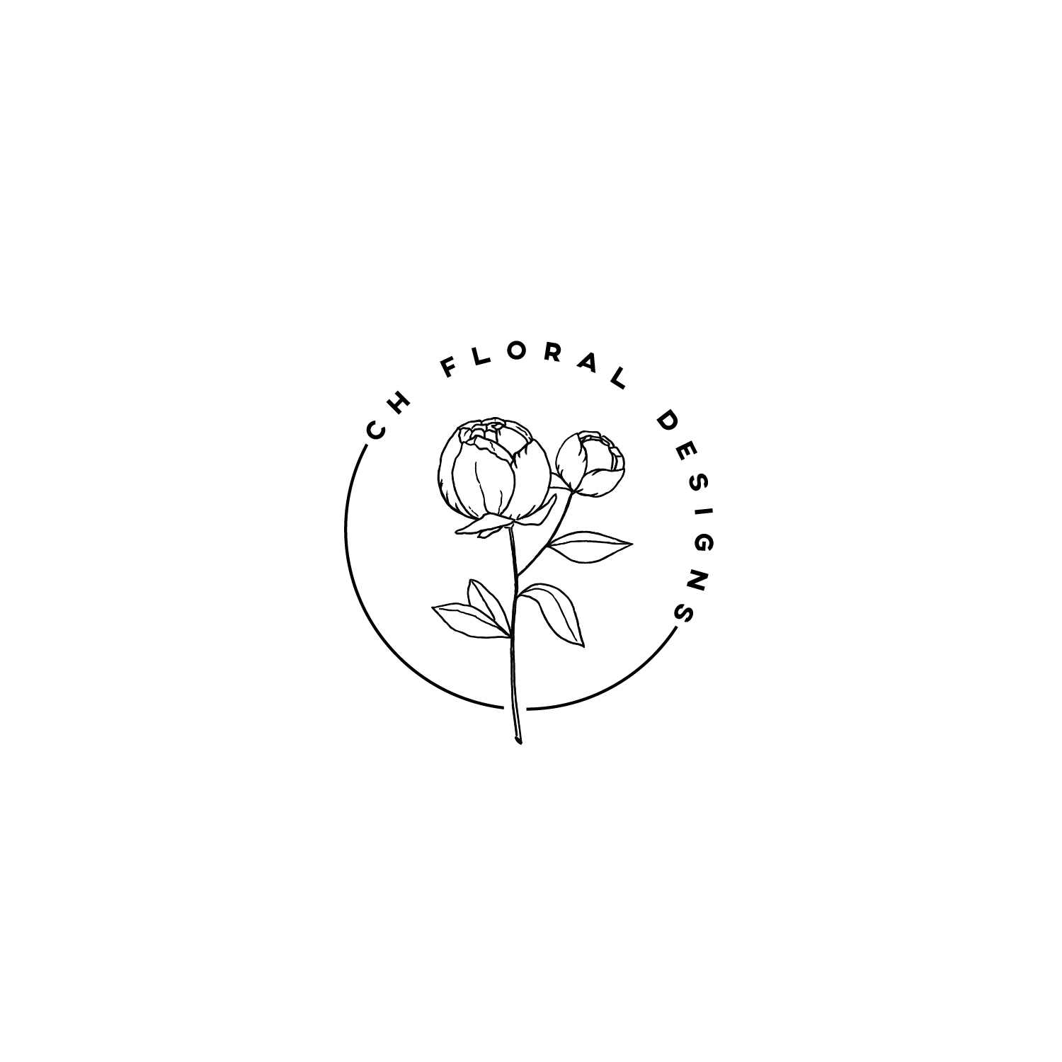 Logo Design for a Floral Decor hire by arlaine cochon