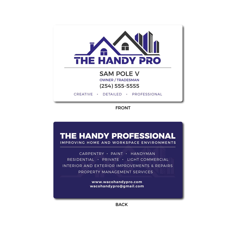 Www Pro Design Com business card design for the handy proeddiemarcus