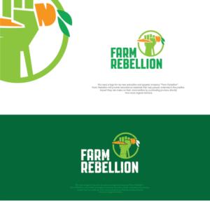 Farm Rebellion | Logo Design by NenadM