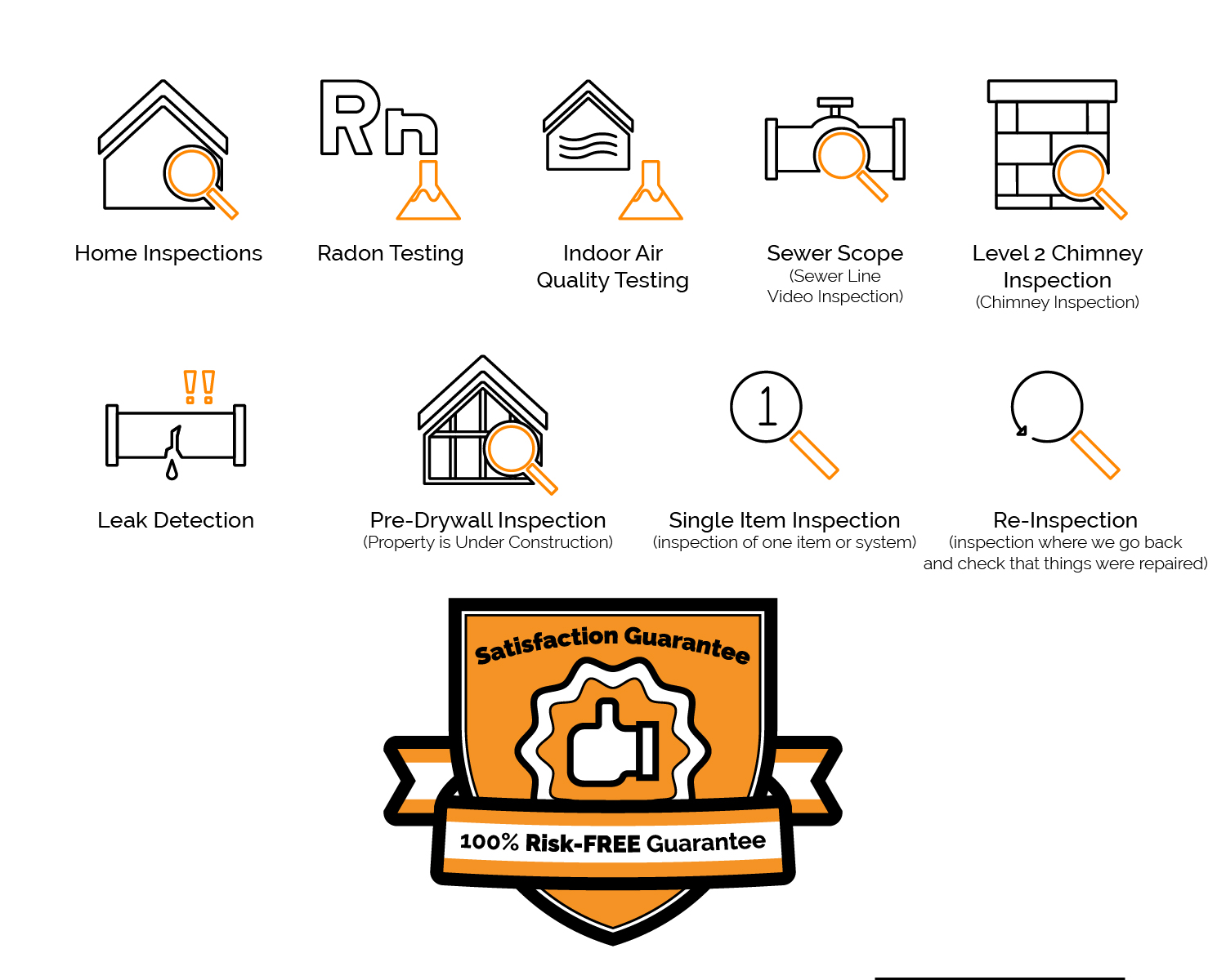 Home Inspection Graphic Design