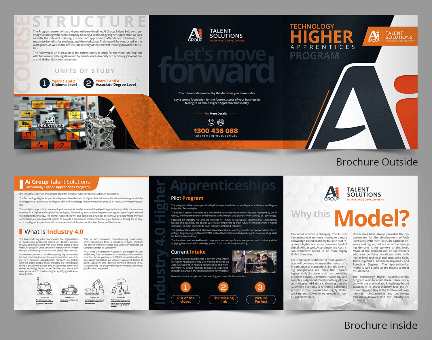 Bold, Modern, Engineering Flyer Design for a Company by SD