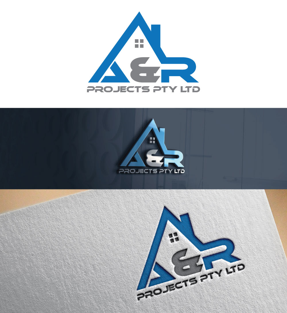 Logo Design For A R Projects Pty Ltd By Dynamic Art 2
