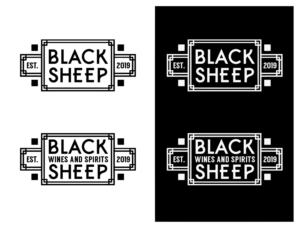 Black Sheep Bar Logo Design By Wonderland