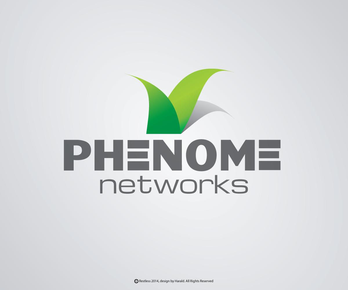 elegant playful software logo design for phenome networks by restless design 2937863. Black Bedroom Furniture Sets. Home Design Ideas