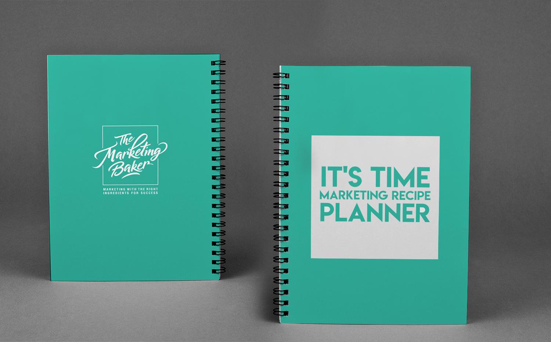 Elegant Serious Marketing Book Cover Design For The