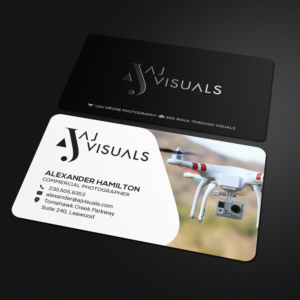 Drone Business Card Designs   175 Business Cards to Browse