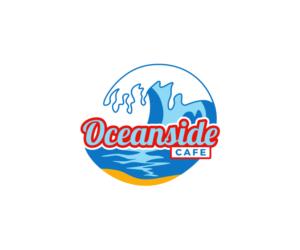 Oceanside Cafe | Logo Design by H-H Arts