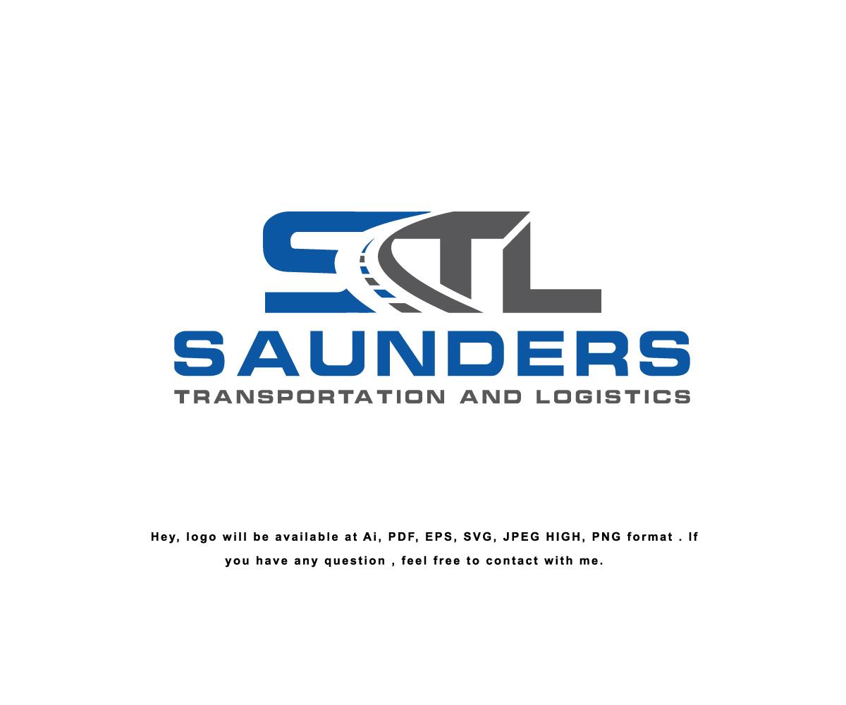 Bold, Feminine, Trucking Company Logo Design for Saunders