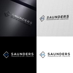 Saunders Transportation And Logistics Logo Design By Putrajawa 2