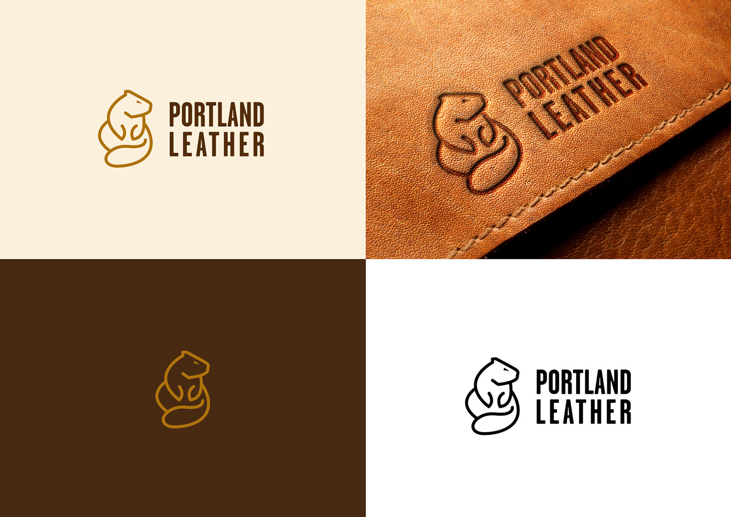 bold personable product logo design for portland leather by khiro design 20955995 bold personable product logo design