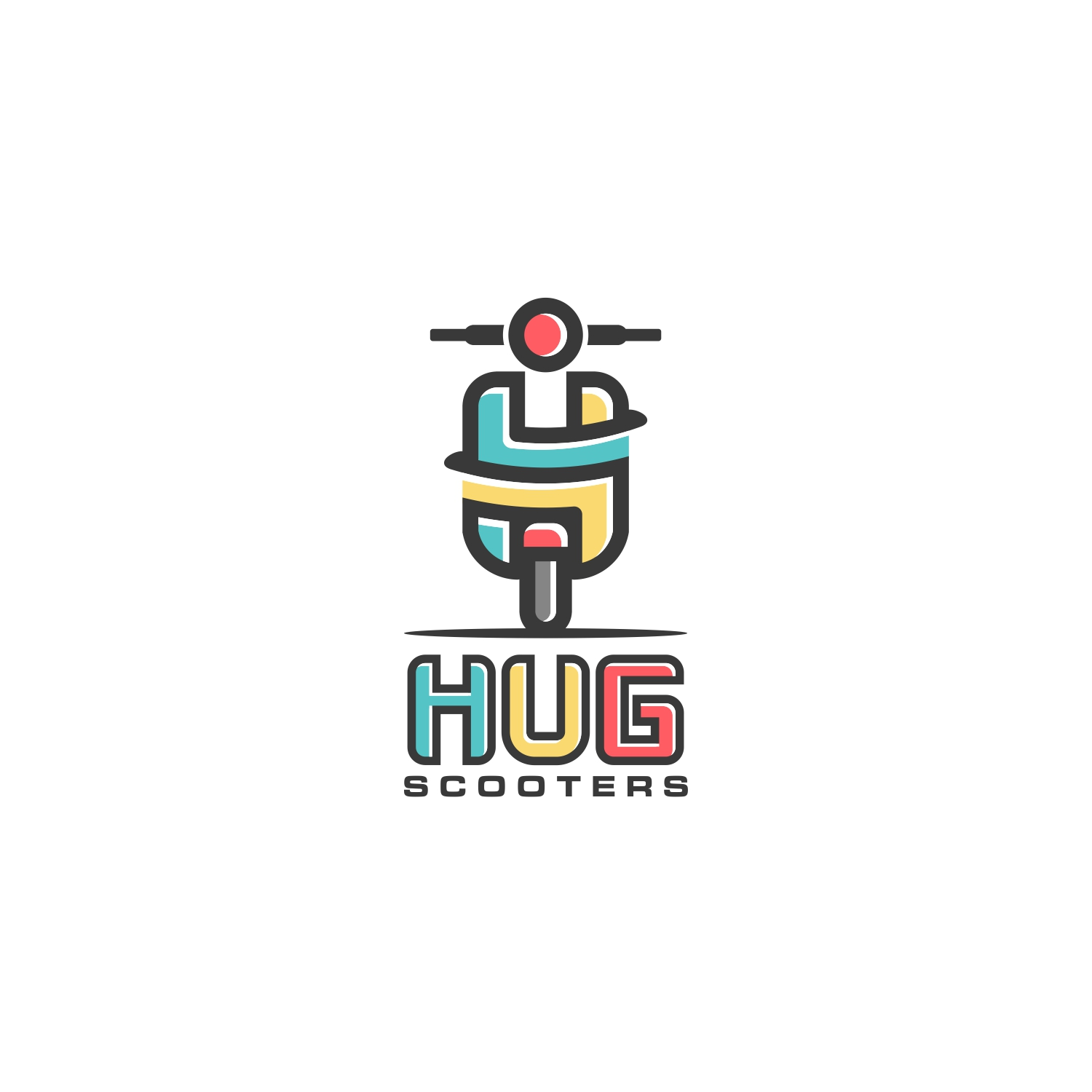 Hug Scooter logo by SON Design