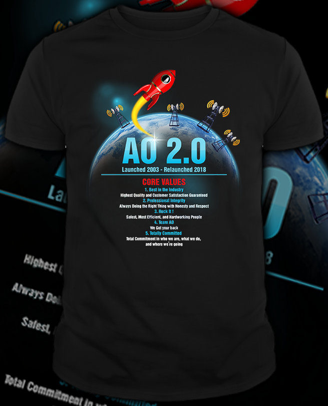 b1048156d Professional, Bold, Technology Equipment T-shirt Design for a Company in  United States | Design 20989955
