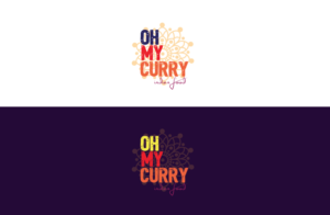 Oh My Curry | Logo Design by GLDesigns