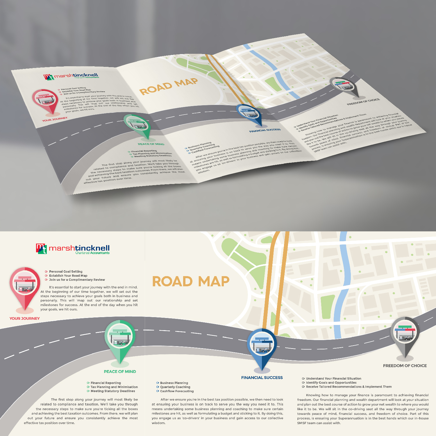 Upmarket, Playful, Accountant Infographic Design for a Company by