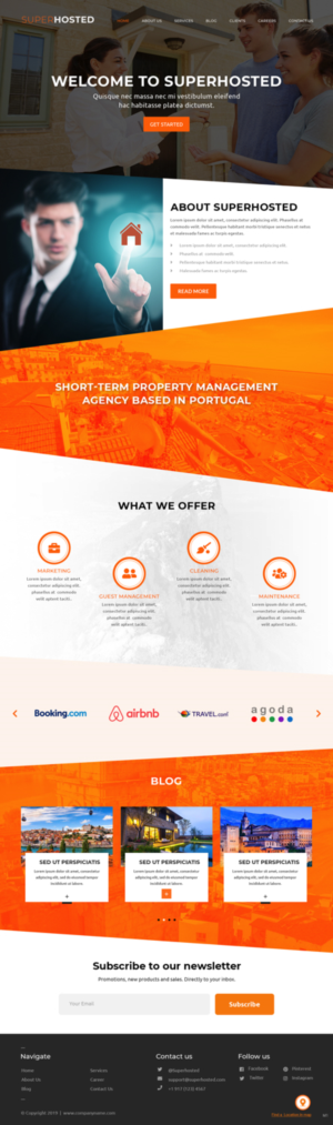 New Airbnb and Vacation rental management agency in Portugal needs a