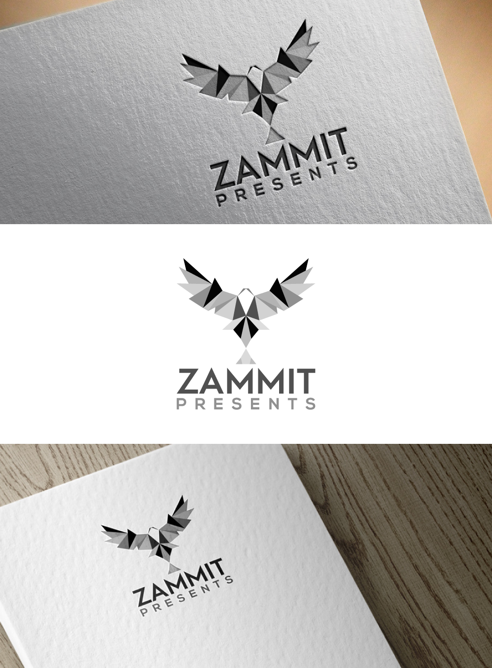 Logo Design for an Arts Events Consultancy Business by crow logo design