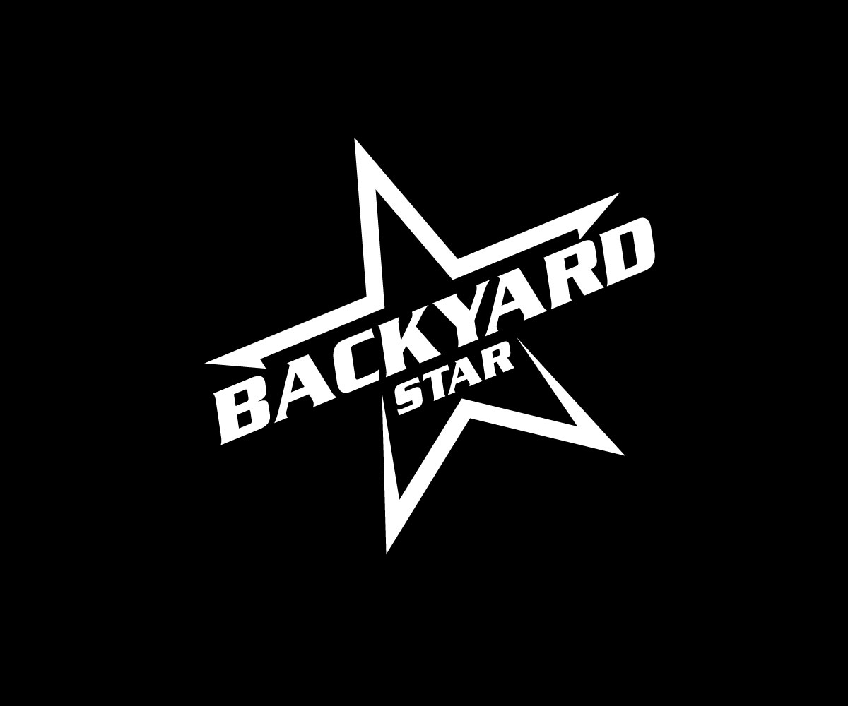 Indie Rock Black and White Star logo by berron 2