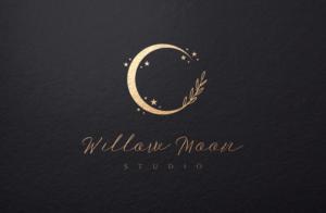 Willow Moon Studio | Logo Design by GLDesigns