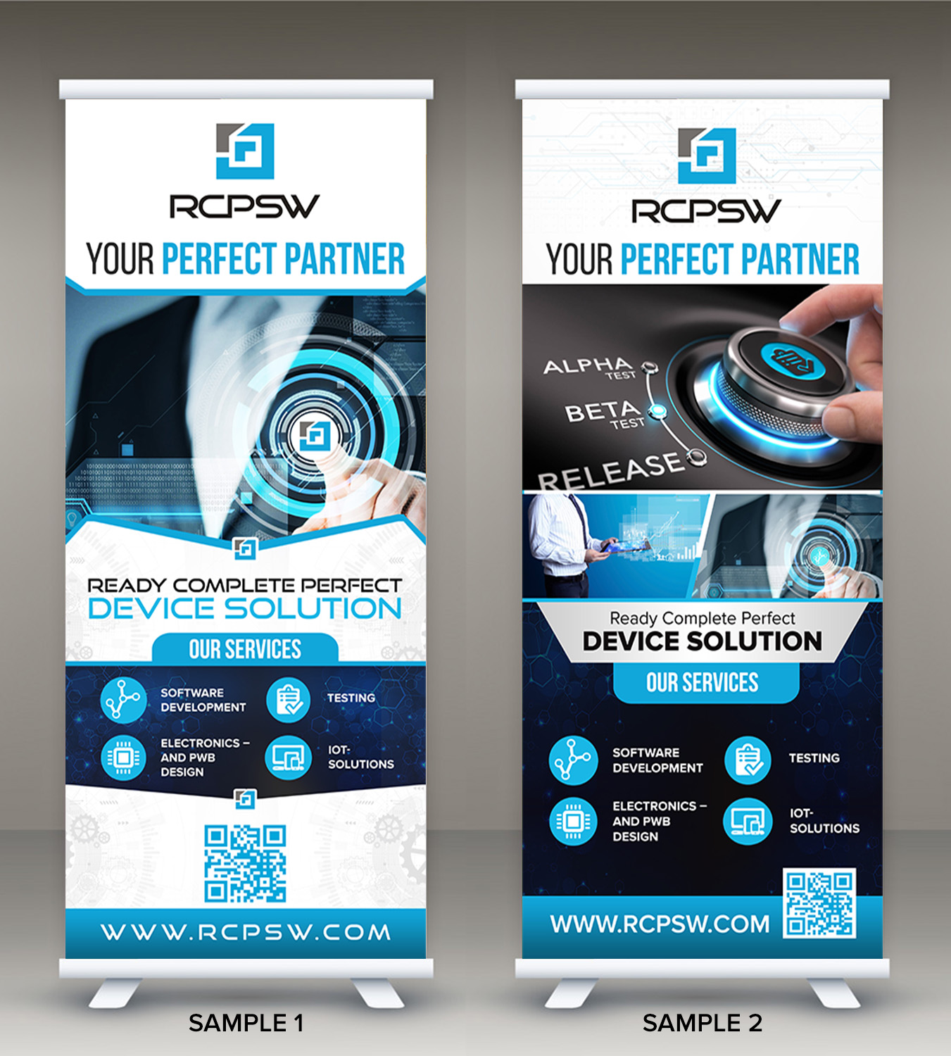 Professional Masculine It Professional Poster Design For Rcp Software By Sd Webcreation Design 21179329