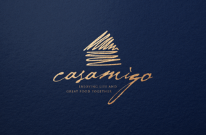 ENJOYING LIFE AND GREAT FOOD TOGETHER | Logo Design by GLDesigns