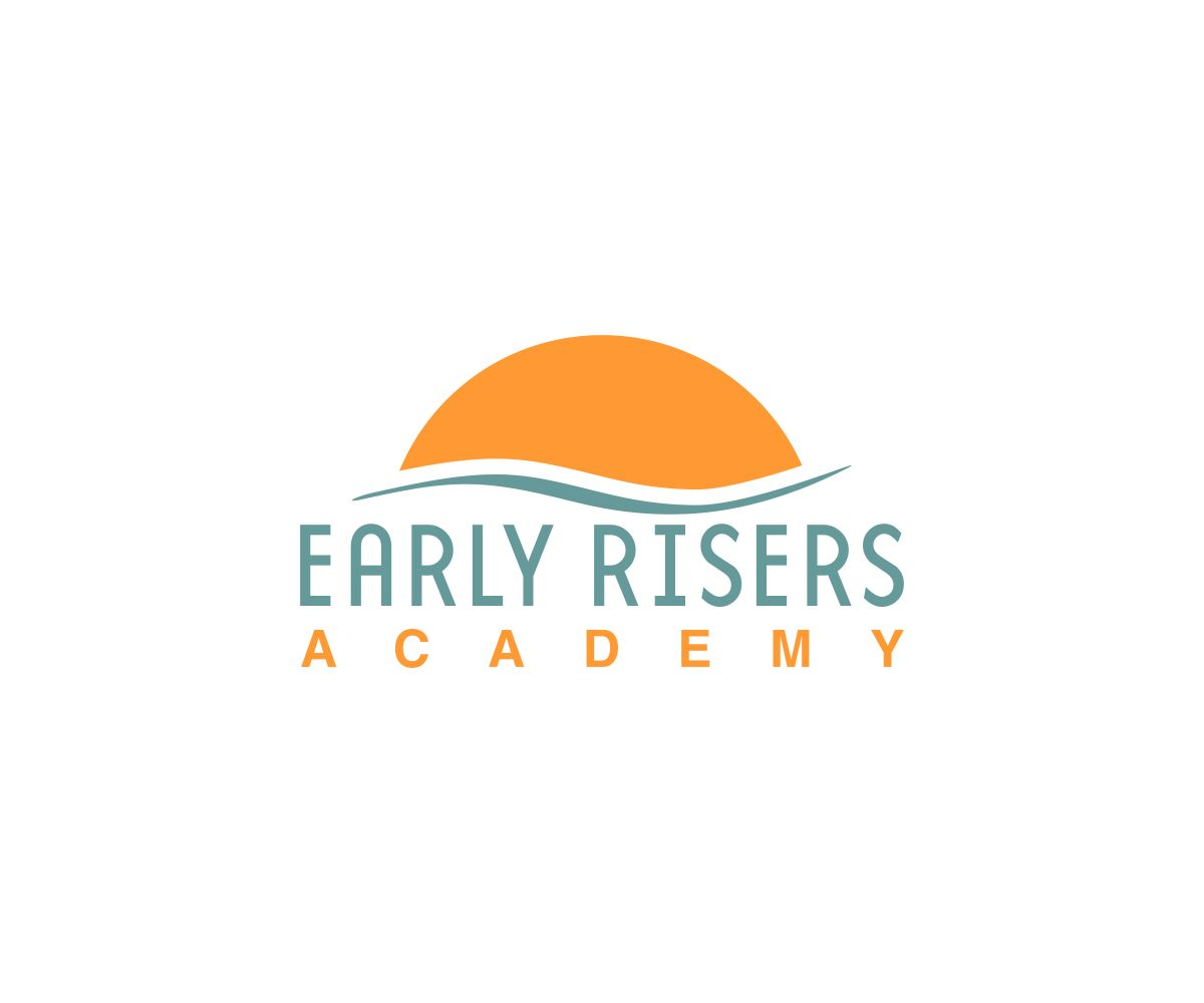 Bold, Playful Logo Design for Early Risers Academy by Tomato