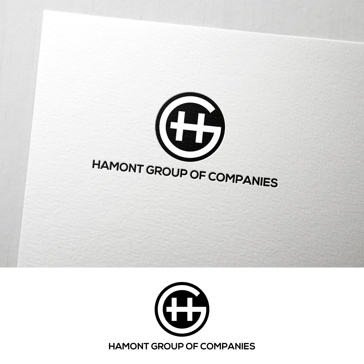Bold, Professional Logo Design for HamOnt Group of Companies