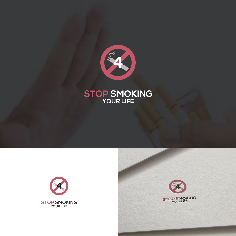 Logo Design For Stop Smoking 4 Your Life By Anggun Diantorro 2 Design 21268534