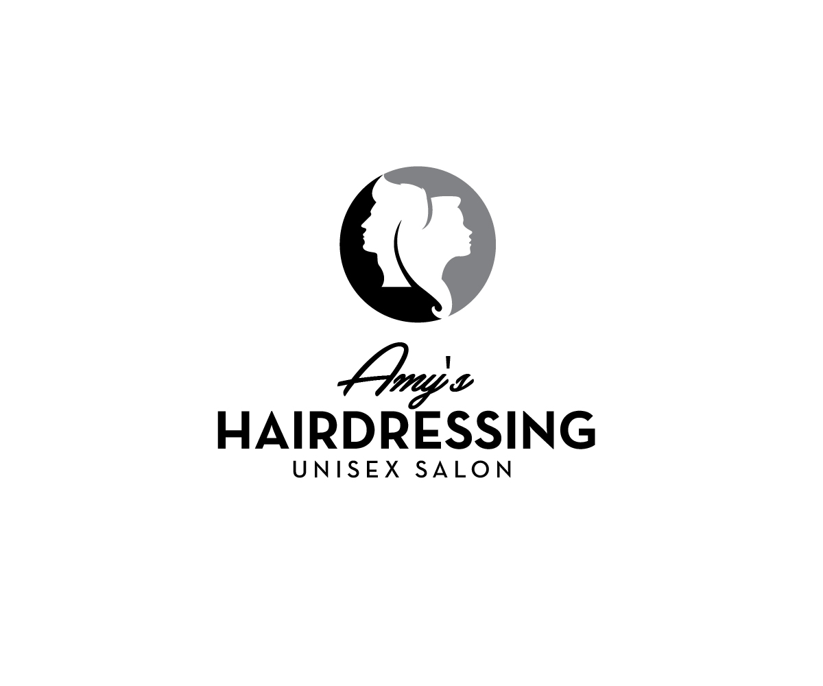 Serious Conservative Hair And Beauty Logo Design For Amy S Hairdressing Unisex Salon By Renderman Design 21274464