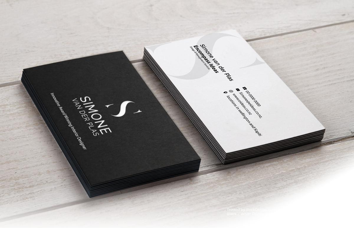 Modern Upmarket Architecture Business Card Design For Encompass Ideas By Riz Design 21357294