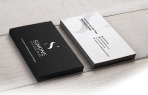 Custom Interior Business Card Designs