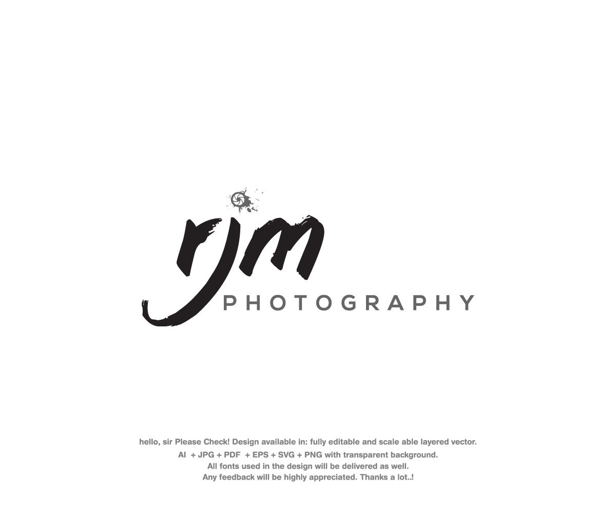 Modern Upmarket Portrait Photography Logo Design For Rjm Photography By Sakura Sara Design 21381797